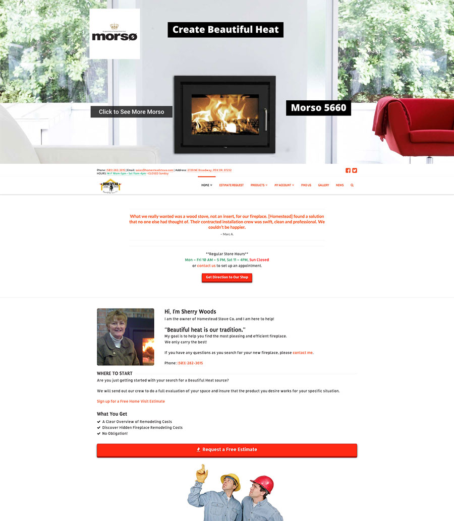 homestead-stove-company-website